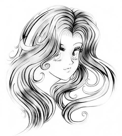 аниме милые картинки для срисовки