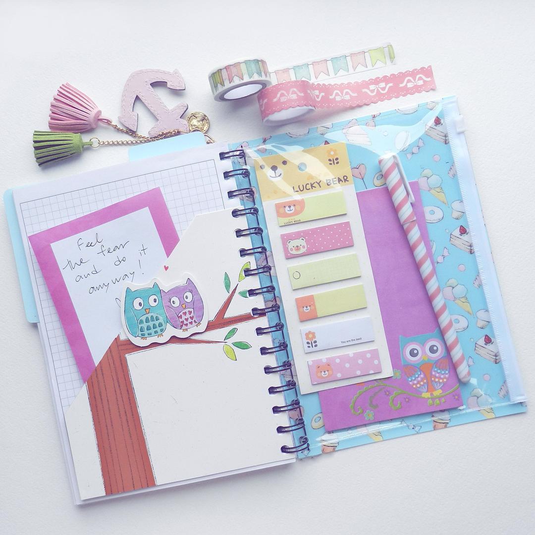 Как оформить личный дневник своими руками для девочек 99