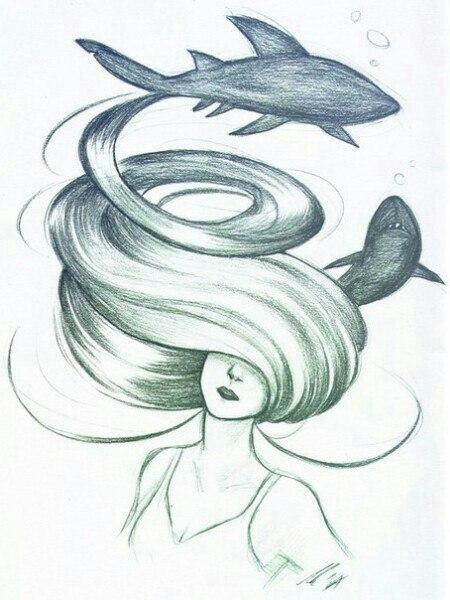 Рисунки карандашом для срисовки романтика