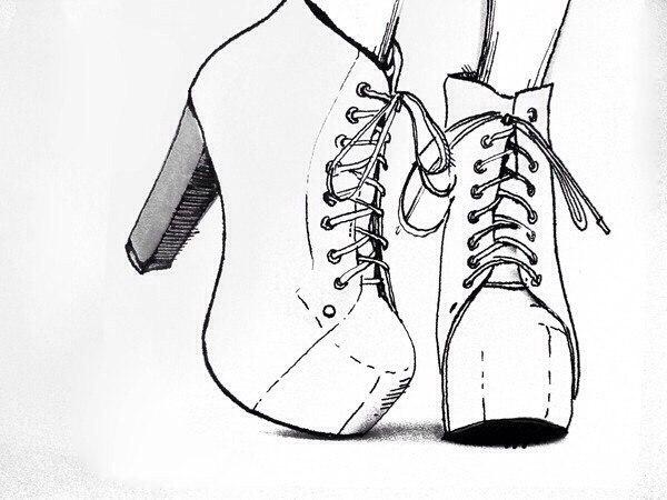 Черно белые картинки девочек для личного дневника