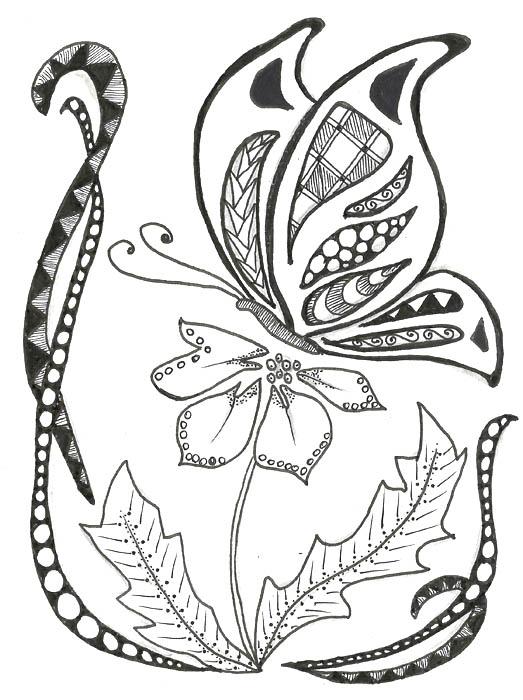 01. Рисование в стиле зенарт