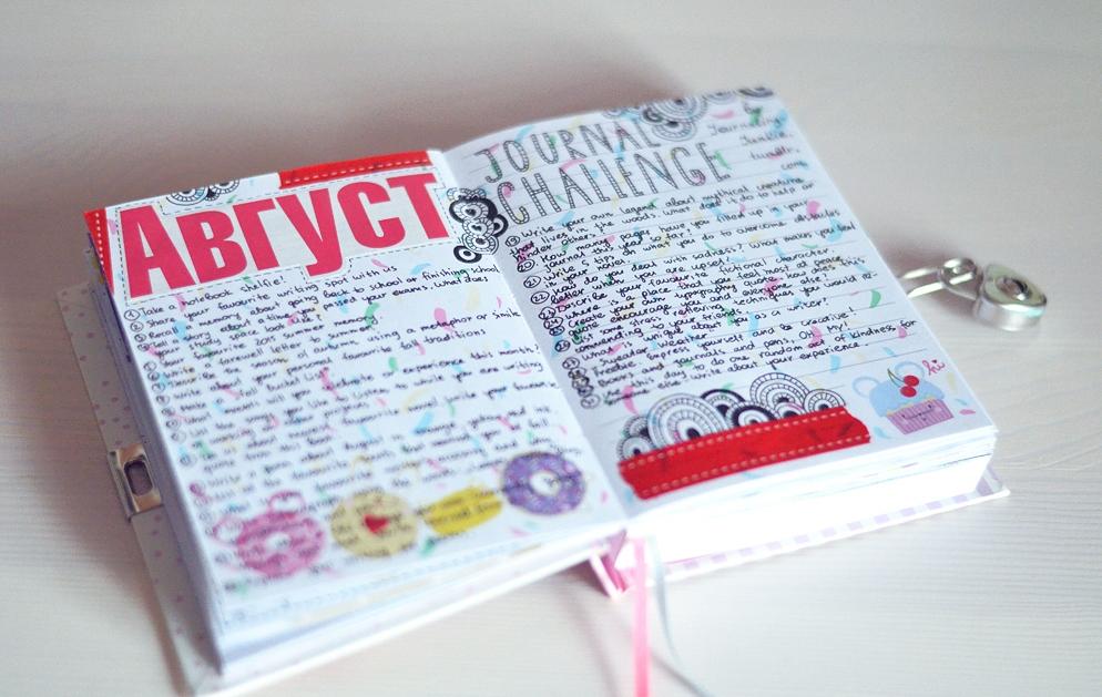 Идеи для личного дневника оформление 2