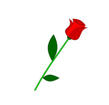 07. Как нарисовать розу