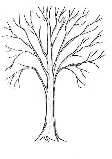 03. Как нарисовать дерево – простой вариант для начинающих
