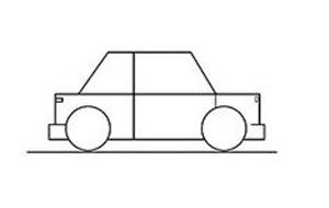 04. Как нарисовать машину – урок для маленьких художников