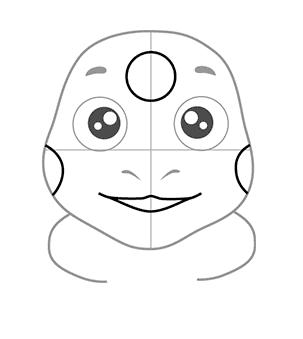 04. Как нарисовать лунтика детям