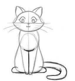 03. Как нарисовать кота за несколько минут?