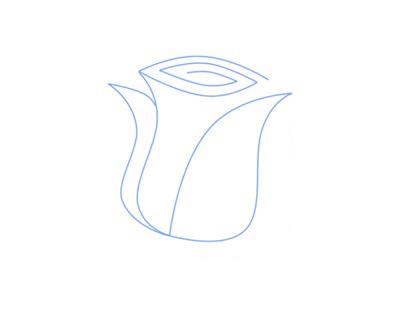 03. Как нарисовать розу