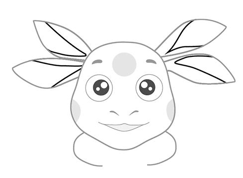 05. Как нарисовать лунтика детям