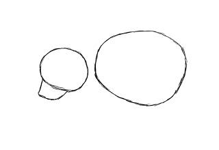 02. Как нарисовать медведя поэтапно