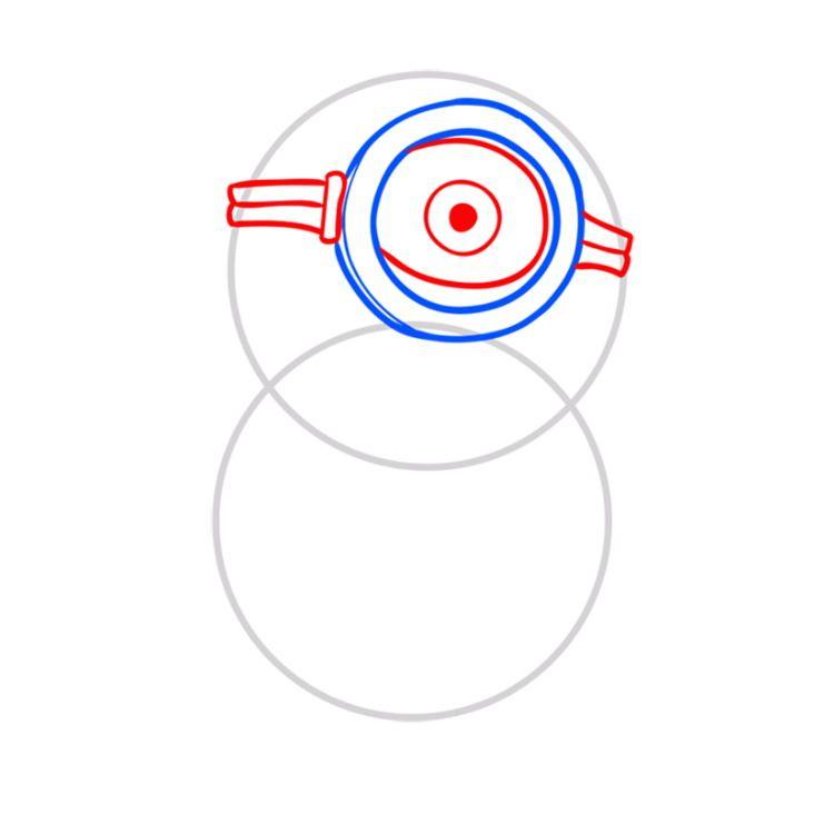 04. Как нарисовать миньона быстро и просто?