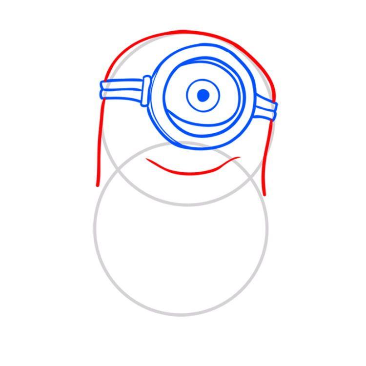 05. Как нарисовать миньона быстро и просто?