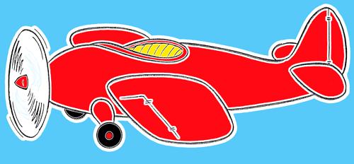 01. Как нарисовать самолет для детей
