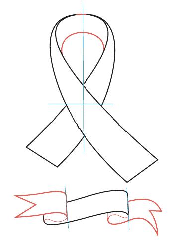 03. Как нарисовать георгиевскую ленту?