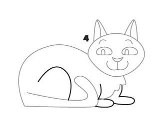 05. Как нарисовать кошку