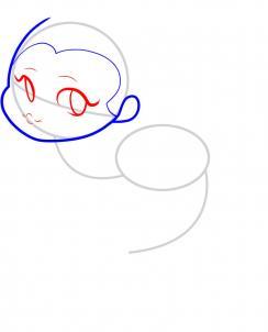 03. Как нарисовать русалку - быстро и легко!