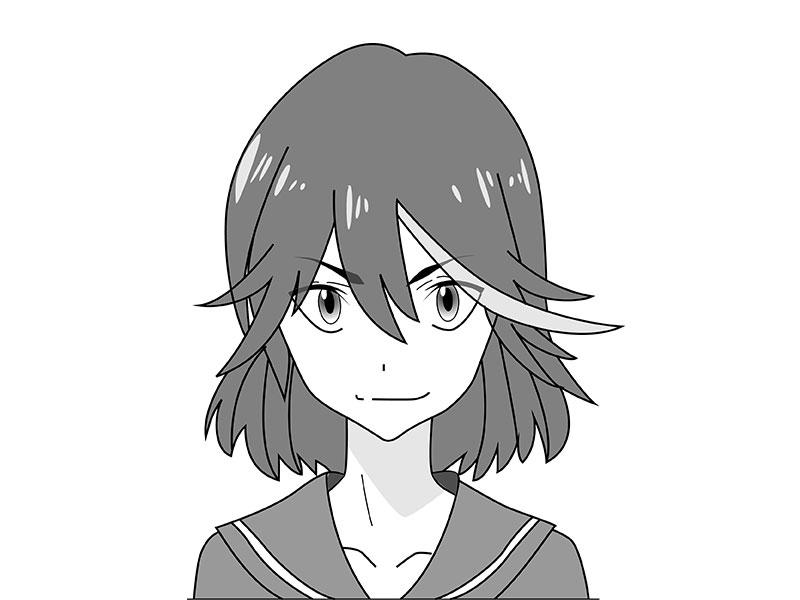 01. Как рисовать аниме – рисуем Рюко Матои