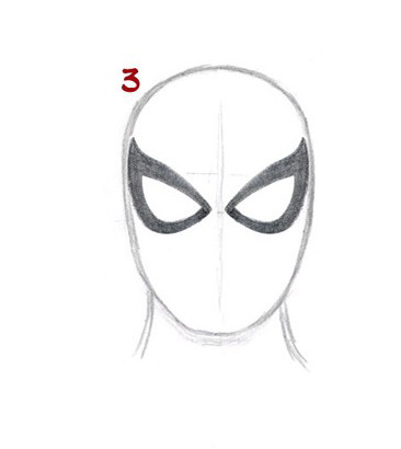 03. Как нарисовать человека паука начинающим