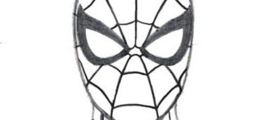 05. Как нарисовать человека паука начинающим