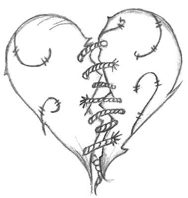 Картинки для срисовки карандашом для начинающих про любовь 8