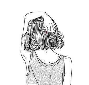 картинки девушек для срисовки легкие