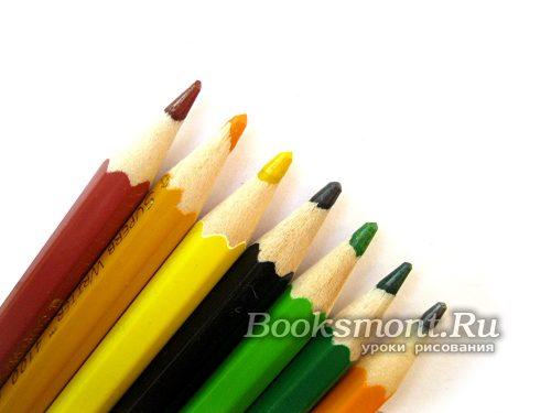 берем бумагу и цветные карандаши
