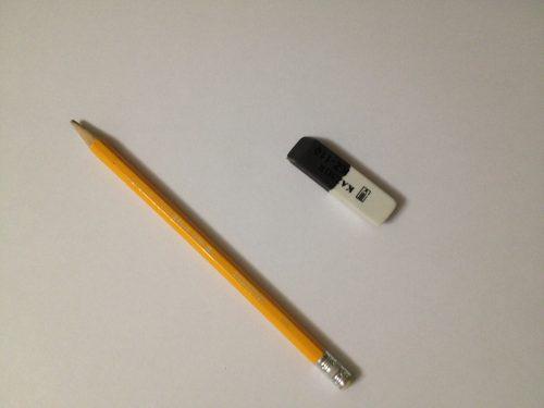 подготовить бумагу, карандаши и ластик