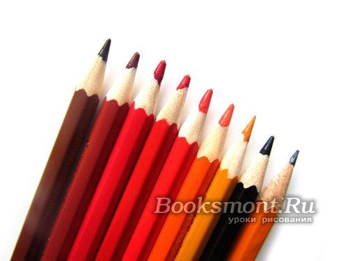 Набор карандашей для рисования новогодней собачки