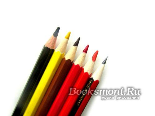 необходимые карандаши