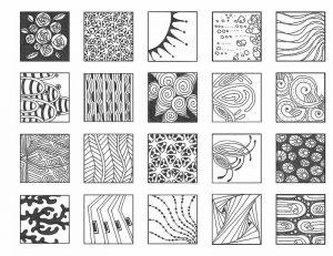 Миниатюра к статье Дудлинг узоры – рисуем вместе настоящие шедевры