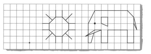 Миниатюра к статье Графический диктант для дошкольников 6 — 7 лет