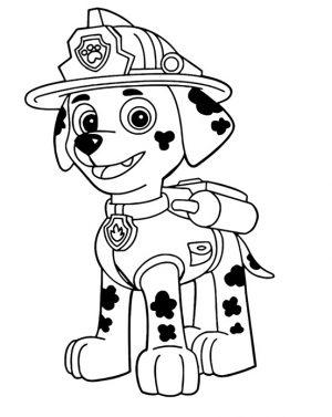 Миниатюра к статье Раскраска щенячий патруль распечатать