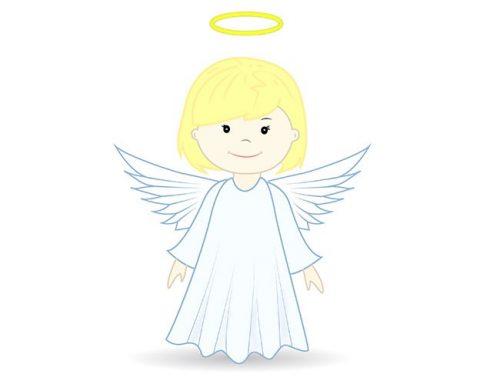 Миниатюра к статье Как нарисовать ангела поэтапно