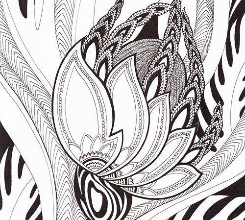 Миниатюра к статье Зентангл – новое слово современного искусства