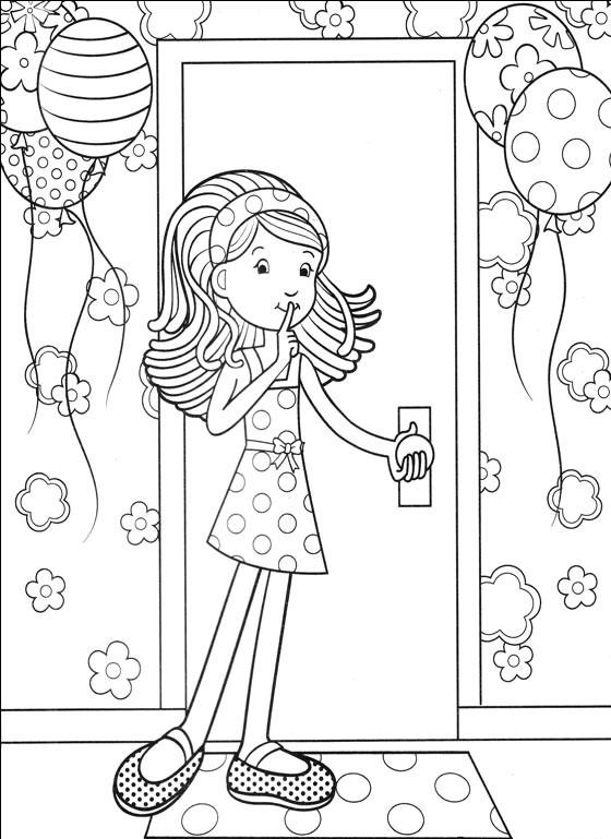 Verjaardag 40 Jaar Kleurplaat Интересные раскраски для девочек 7 лет