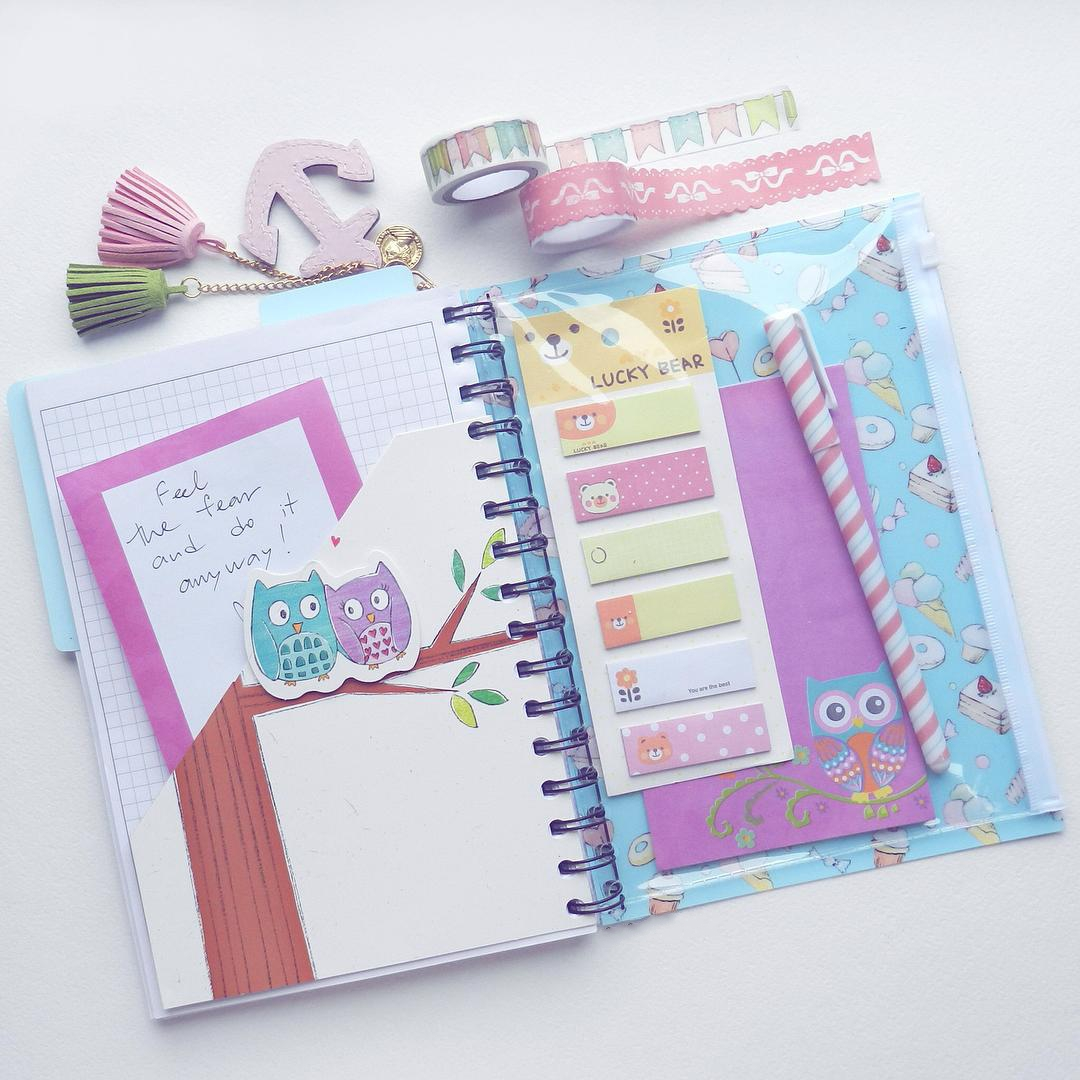 Миниатюра к статье Интересные идеи для лд: как украсить личный дневник?
