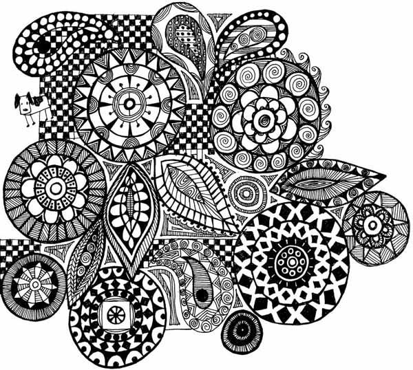 02. Зентангл и дудлинг: доступное рисование для всех