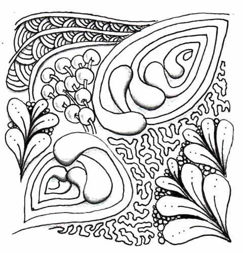 03. Зентангл и дудлинг: доступное рисование для всех
