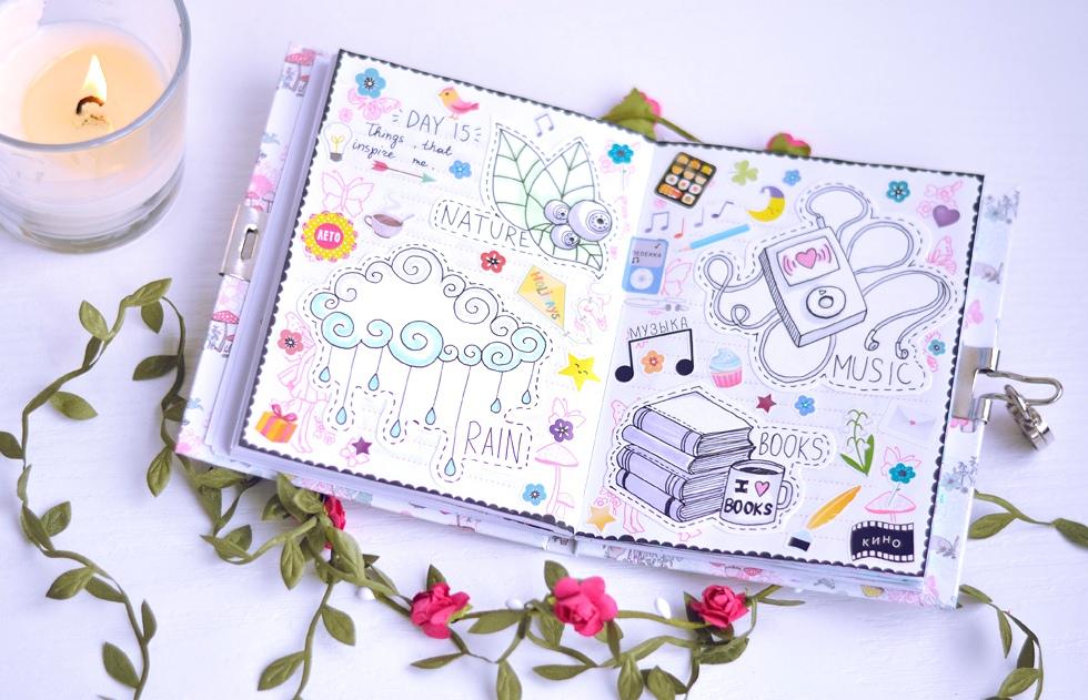 Оформление страниц личного дневника картинки
