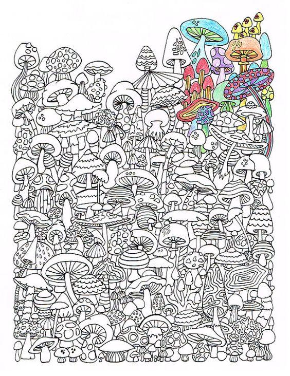 Рисунки антистресс