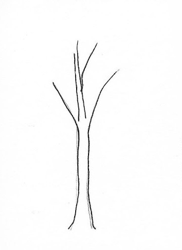 01. Как нарисовать дерево – простой вариант для начинающих