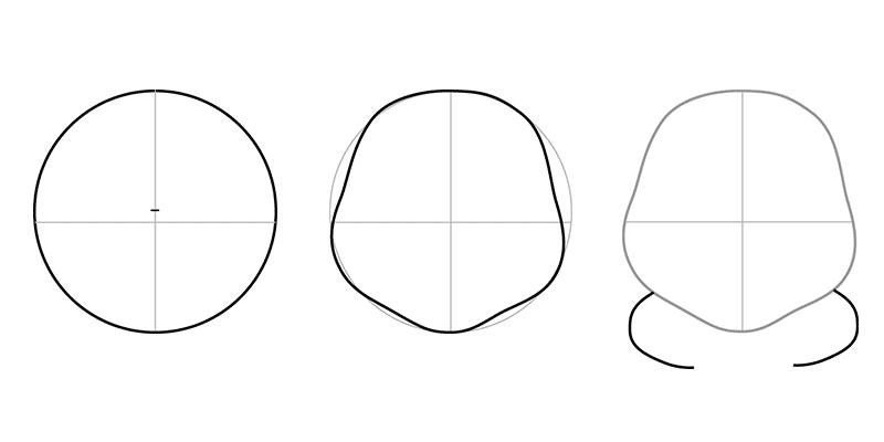 02. Как нарисовать лунтика детям
