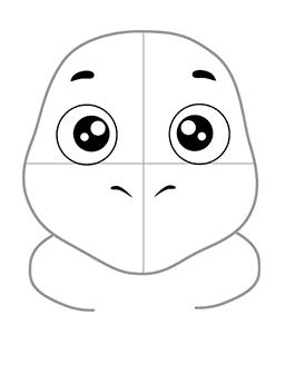 03. Как нарисовать лунтика детям