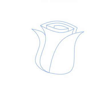 05. Как нарисовать розу