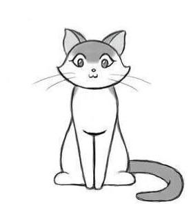Миниатюра к статье Как нарисовать кота за несколько минут?