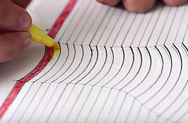 05. Как нарисовать 3d рисунок на бумаге?