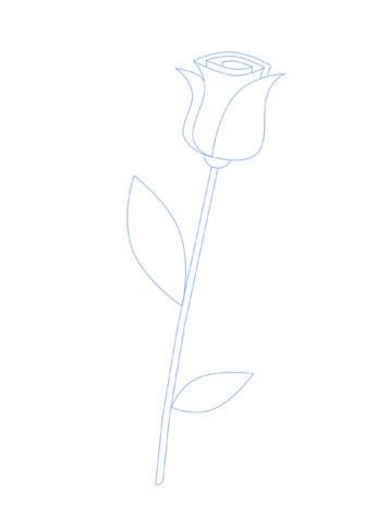 06. Как нарисовать розу