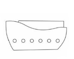 03. Как нарисовать корабль детям