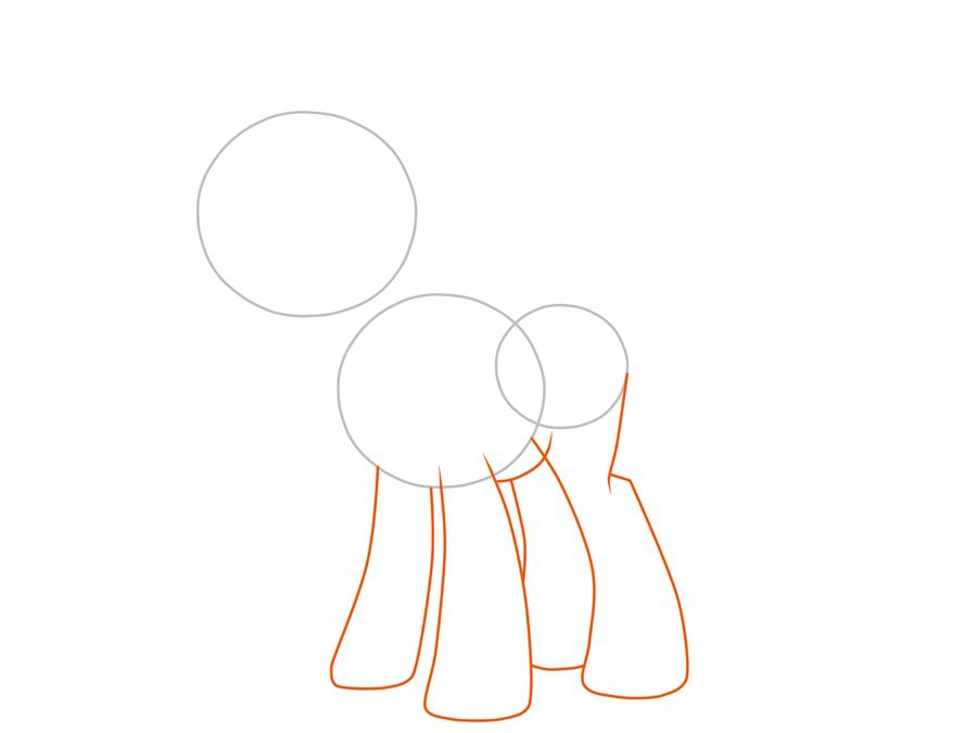 03. Как рисовать пони Искорку из мультфильма про дружбу