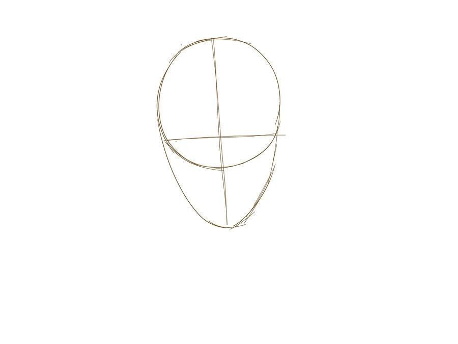 02. Как нарисовать дэдпула поэтапно